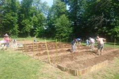 Préparation du terrain et compostage