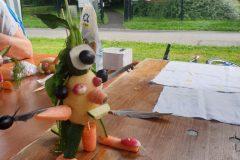 Atelier de marionnettes de légumes animé par Isabelle