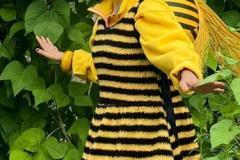Maya l'abeille, aussi dite Esther, à la Fête du jardin 2021