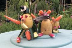 Atelier marionnettes de légumes animé par Isabelle
